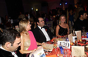 Melanie Johnson, ( in pink) and Stelios Haji-Ioannou. British Red Cross tenth annual Ball. 'The Room' South Bank. London. 1 December 2004. ONE TIME USE ONLY - DO NOT ARCHIVE  © Copyright Photograph by Dafydd Jones 66 Stockwell Park Rd. London SW9 0DA Tel 020 7733 0108 www.dafjones.com