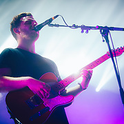 alt-J performing live at the Rock A Field festival in Roeser, Luxembourg on July 5, 2015