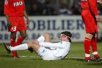 Fotball<br /> Auxerre v Monaco<br /> 14. mars 2004<br /> Foto: Digitalsport<br /> Norway Only<br /> <br /> TEEMU TAINIO (AUX) <br /> <br /> <br />  *** Local Caption *** 40001084