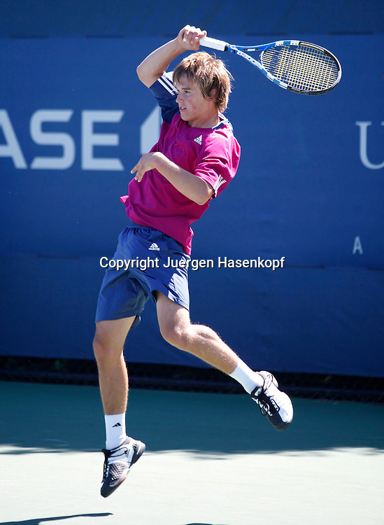 US Open 2010, USTA Billie Jean National Tennis.Center, New Flushing Meadows York,ITF Grand Slam Tennis Tournament . Junioren Wettbewerb, Matthias Wunner (GER)