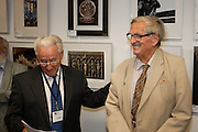 Mike Grimes & Denis Healey. Seaford Photographic Exhibition 2012 in The Crypt, Seaford, East Sussex 25 August - 09 September