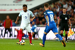 Ryan Bertrand of England - Mandatory by-line: Robbie Stephenson/JMP - 04/09/2017 - FOOTBALL - Wembley Stadium - London, United Kingdom - England v Slovakia - 2018 FIFA World Cup Qualifier