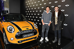 Monday 18th November 2013 saw a host of London hipsters, social faces and celebrities, gather together for the much-anticipated World Premiere of the brand new MINI.<br /> Attendees were among the very first in the world to see and experience the new MINI, exclusively revealed to guests during the party. Taking place in the iconic London venue of the Old Sorting Office, 21-31 New Oxford Street, London guests enjoyed a DJ set from Little Dragon, before enjoying an exciting live performance from British band Fenech-Soler.<br /> Picture Shows:-Left to right, PHIL CLIFTON and JAY CAMILLERI