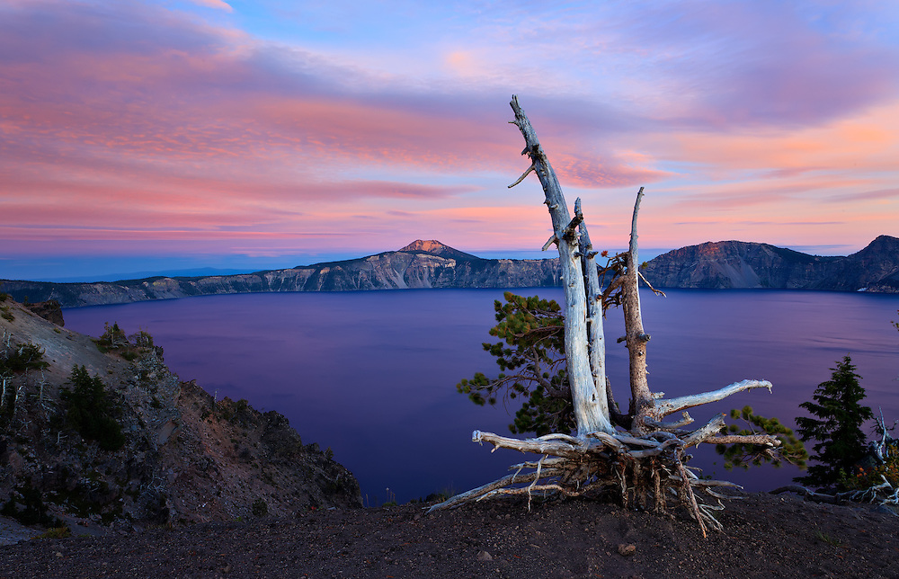 Crater Lake 7-21 PM