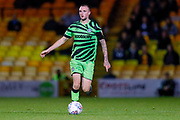 Forest Green Rovers Carl Winchester(7) in action  during the EFL Sky Bet League 2 match between Port Vale and Forest Green Rovers at Vale Park, Burslem, England on 20 August 2019.