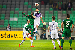 Marwan Kabha of NK Maribor during football match between NK Olimpija Ljubljana and NK Maribor in 1st leg match in Quaterfinal of Slovenian cup 2017/2018, on November 11, 2017 in SRC Stozice, Ljubljana, Slovenia.  Photo by Ziga Zupan / Sportida