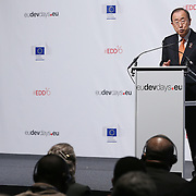 20160615 - Brussels , Belgium - 2016 June 15th - European Development Days - Opening Ceremony - Ban Ki-Moon - Secretary General, United Nations © European Union