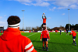 Warm up - Rogan/JMP - 14/12/2019 - RUGBY UNION - Shaftesbury Park - Bristol, England - Bristol Bears U18 v Bath Rugby U18 - Premiership Rugby U18 Academy League.