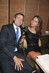 BEN GOLDSMITH and JEMIMA JONES at the Pig Business Fundraiser, Sake No Hana, St.James's, London on 26th September 2012.