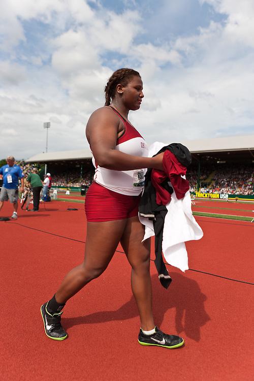 2012 USA Track & Field Olympic Trials: Brooks, womens shot put