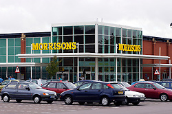 Morrisons supermarket, Freemans Park, Leicester, England, United Kingdom.
