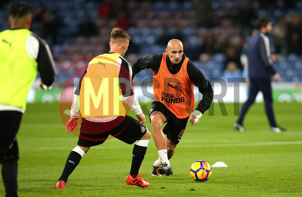 Jonjo Shelvey of Newcastle United - Mandatory by-line: Robbie Stephenson/JMP - 30/10/2017 - FOOTBALL - Turf Moor - Burnley, England - Burnley v Newcastle United - Premier League