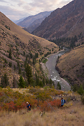 Whitewater rafting, Middle Fork of the Salmon River, Idaho, United States