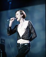 Brett Anderson of Suede at The BRIT Awards 1993 <br /> Tuesday 16 Feb 1993.<br /> Alexandra Palace, London, England<br /> Photo: John Marshall - JM Enternational