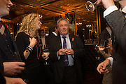 PETER MCKAY, The launch of the 1939 Register, hosted by The National Archives and Findmypast to celebrate one of the most important documents in modern British history. POMPADOUR BALLROOM, HOTEL CAFÉ ROYAL<br /> 68 Regent Street, London. 3 November 2015