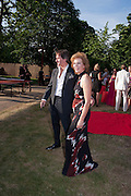 TIM JEFFERIES; JULIA PEYTON-JONES, The Summer Party. Serpentine Gallery. 8 July 2010. -DO NOT ARCHIVE-© Copyright Photograph by Dafydd Jones. 248 Clapham Rd. London SW9 0PZ. Tel 0207 820 0771. www.dafjones.com.