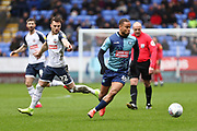 Wycombe Wanderers midfielder Curtis Thompson in action  during the EFL Sky Bet League 1 match between Bolton Wanderers and Wycombe Wanderers at the University of  Bolton Stadium, Bolton, England on 15 February 2020.