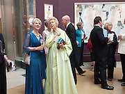 THE DUCHESS OF GLOUCESTER; THE DOWAGER DUCHESS OF DEVONSHIRE, Annual Dinner. Royal Academy of Arts. Piccadilly. London. 8 June 2010. -DO NOT ARCHIVE-© Copyright Photograph by Dafydd Jones. 248 Clapham Rd. London SW9 0PZ. Tel 0207 820 0771. www.dafjones.com.