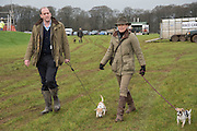 QUINTIN INGS-CHAMBERS; LUCY INGS-CHAMBERS, DOGS; MONKEY; DIBBY,( BLACK SPOTS, The Heythrop Hunt Point to Point. Cocklebarrow. 24 January 2016