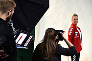 Warsaw, Poland - 2017 December 08: Tennis player Magdalena Frech from Poland poses while Photo Session of Fed Cup Team of Polish Tennis Association at Mera Tennis Club on December 08, 2017 in Warsaw, Poland.<br /> <br /> Mandatory credit:<br /> Photo by © Adam Nurkiewicz / Mediasport<br /> <br /> Adam Nurkiewicz declares that he has no rights to the image of people at the photographs of his authorship.<br /> <br /> Picture also available in RAW (NEF) or TIFF format on special request.<br /> <br /> Any editorial, commercial or promotional use requires written permission from the author of image.