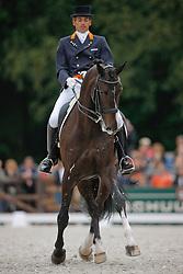 Visser Tommie (NED) - Santo Domingo<br /> Nederlands Kampioenschap Dressuur - De Steeg 2009<br /> Photo © Dirk Caremans