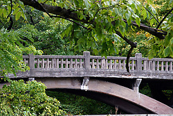 25 September 2012:   Illinois scenery near Oglesby and Ottawa..Matthiessen State Park. Lake bridge