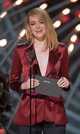 04.03.2018; Hollywood, USA: OSCAR TELECAST<br /> for the 90th Annual Academy Awards at the Dolby&reg; Theatre in Hollywood.<br /> Mandatory Photo Credit: AMPAS/Newspix International<br /> <br /> IMMEDIATE CONFIRMATION OF USAGE REQUIRED:<br /> Newspix International, 31 Chinnery Hill, Bishop's Stortford, ENGLAND CM23 3PS<br /> Tel:+441279 324672  ; Fax: +441279656877<br /> Mobile:  07775681153<br /> e-mail: info@newspixinternational.co.uk<br /> Usage Implies Acceptance of Our Terms &amp; Conditions<br /> Please refer to usage terms. All Fees Payable To Newspix International<br /> Emma Stone presenting at the Academy Awards