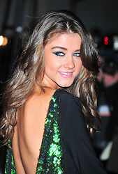 © Licensed to London News Pictures. 19/12/2011. London, England. Brooke Vincent attends a Night Of Heros , the Sun Military Awards 2011 held on Monday 19th Dec at the Imperial War Museum London . the awards will be televised on Wed 21st December 2011 .  Photo credit : ALAN ROXBOROUGH/LNP