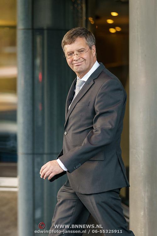 NLD/Amsterdam/20181027 - Herdenkingsdienst Wim Kok, Jan Peter Balkenende
