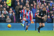 Mile Jedinak (15) of Crystal Palace  during the Barclays Premier League match between Crystal Palace and Liverpool at Selhurst Park, London, England on 6 March 2016. Photo by Phil Duncan.