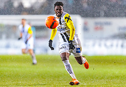 17.02.2018, TGW Arena, Pasching, AUT, 1. FBL, LASK Linz vs Cashpoint SCR Altach, 23. Runde, im Bild Samuel Tetteh (LASK) // during the Austrian Football Bundesliga 23rd Round match between LASK Linz und Cashpoint SCR Altach at the TGW Arena in Pasching, Austria on 2018/02/17. EXPA Pictures © 2018, PhotoCredit: EXPA/ JFK