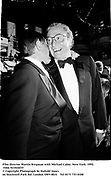 Film director Martin Bregman with Michael Caine. New York. 1992. Film 921024f35<br />