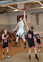 NHIAA Division III boys varsity basketball Prospect Mountain versus Berlin  February 16, 2012.