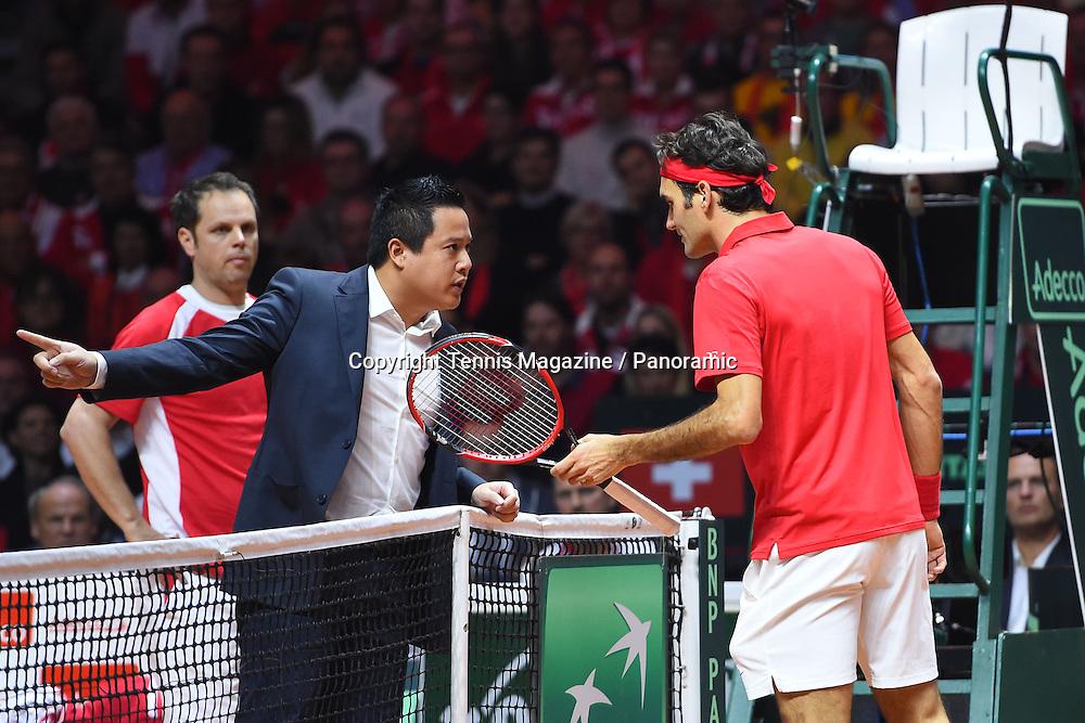 Gael Monfils (Fra) def Roger Federer (Sui)