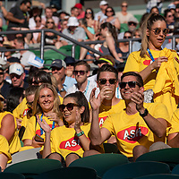 Fans on day four of the 2018 Australian Open in Melbourne Australia on Thursday January 18, 2018.<br /> (Ben Solomon/Tennis Australia)