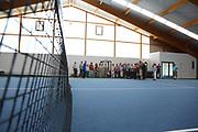 Ludwigshafen. 03.06.17 | BASF Tennisclub<br /> BASF Tennisclub. Begehung der Anlage<br /> <br /> <br /> BILD- ID 037 |<br /> Bild: Markus Prosswitz 03JUN17 / masterpress (Bild ist honorarpflichtig - No Model Release!)