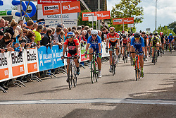 Rider of National Team USA during the Holland Ladies Tour at the finish, 's-Heerenberg, Gelderland, The Netherlands, 1 September 2015.<br /> Photo: Pim Nijland / PelotonPhotos.com