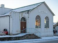 The YMCA in Vestammannaeyjar islands, Iceland.