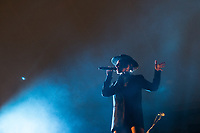 Cleo Panther performs with Band Parov Stelar at Womadelaide 2017 Music Festival held between 10 - 13 March 2017 in Adelaide, South Australia