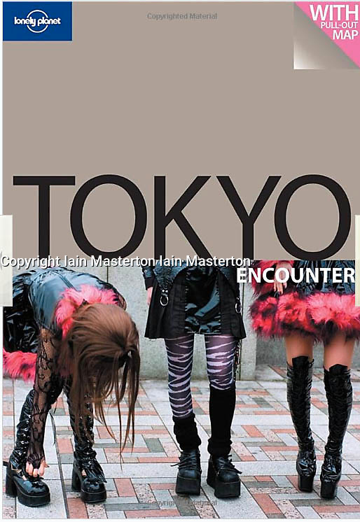 Tearsheet from Lonely Planet Tokyo Encounter