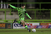 Forest Green Rovers Liam Kitching(20) during the EFL Sky Bet League 2 match between Forest Green Rovers and Port Vale at the New Lawn, Forest Green, United Kingdom on 11 February 2020