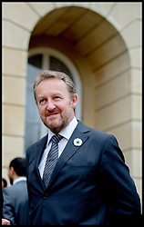 Image ©Licensed to i-Images Picture Agency. 08/07/2014. London, United Kingdom. President of Bosnia and Herzegovina  Bakir Izetbegovic at the Srebrenica Memorial Reception at Lancaster House. Picture by Andrew Parsons / i-Images