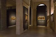 L'Ultimo Caravaggio, eredi e nuovi maestri (Last Caravaggio, Heirs and new Masters) exhibition at Gallerie d'Italia, Intesa Sanpaolo Museum, in Milan on November 30, 2017. Set-up project by Valter Palmieri. © Carlo Cerchioli