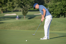 August 10, 2018 - Town And Country, Missouri, U.S - DANNY BALIN from Rye New York, USA  putts on the fourth green during round two of the 100th PGA Championship on Friday, August 10, 2018, held at Bellerive Country Club in Town and Country, MO (Photo credit Richard Ulreich / ZUMA Press) (Credit Image: © Richard Ulreich via ZUMA Wire)