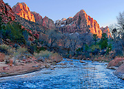 Virgin River at Zion National Park