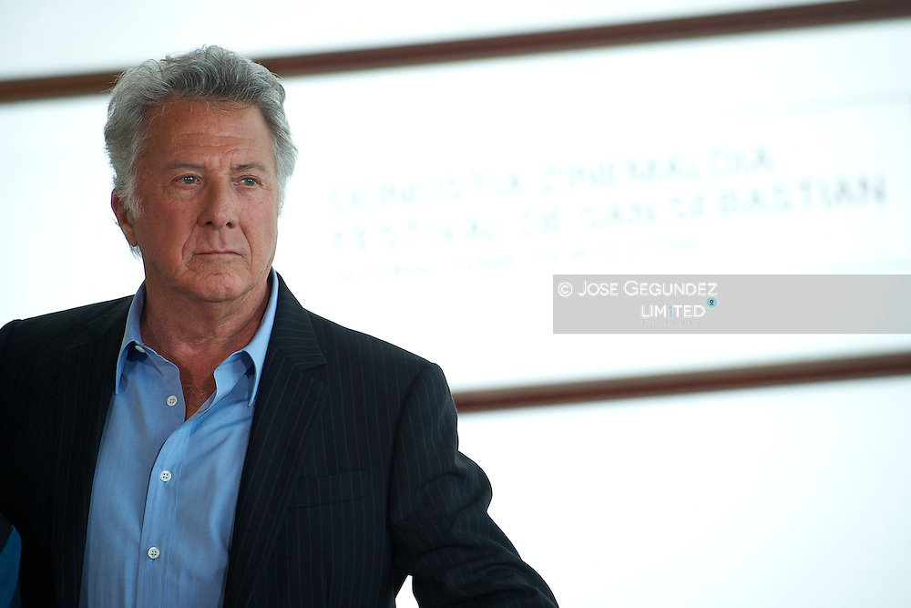 Director Dustin Hoffman attends 'Quartet' photocall at the Kursaal Palace during 60th San Sebastian International Film Festival on September 29, 2012 in San Sebastian, Spain.