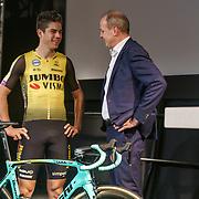NLD/Veghel/20181221 - Presentatie van Team Jumbo, Wout van Aert en Jumbo-baas Frits van Eerd