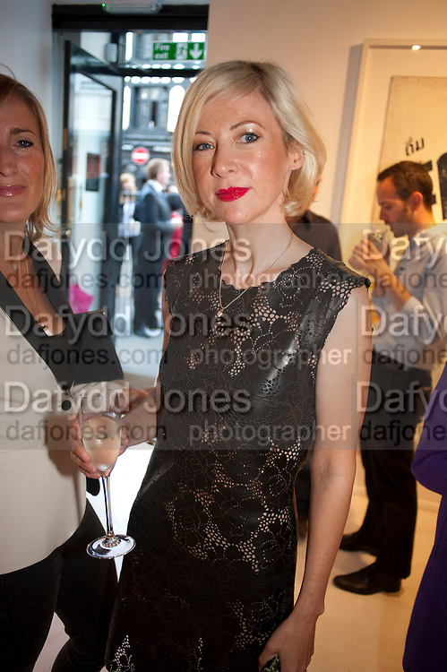 TIGER SAVAGE, Private view and Summer party for Scream Now. An exhibitio of new work by gallery artists. Bruce French,, Derrick Santini, Greg Miller, Malgosia Stepnik, Pakpoom Silaphan, Petroc Sesti, Russell Young. Scream. Bruton st. London. 4 August 2011. <br /> <br />  , -DO NOT ARCHIVE-© Copyright Photograph by Dafydd Jones. 248 Clapham Rd. London SW9 0PZ. Tel 0207 820 0771. www.dafjones.com.