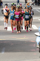 NYC Marathon, Buzunesh Deba leads pack, Goucher