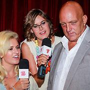 NLD/Hilversum/20130820- Najaarspresentatie RTL 2013, Britt Dekker en Imke Wieringa interviewen Herman den Blijker
